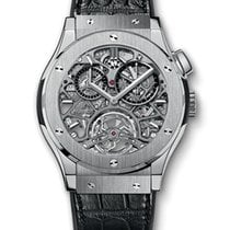 Hublot Classic Fusion Tourbillon Skeleton Titanium 45 mm
