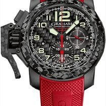 Graham Clous de Paris Chronofighter Oversize Superlight Carbon...