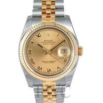 ロレックス (Rolex) Datejust Gold/Steel Gold colored/18k gold Ø36 mm...