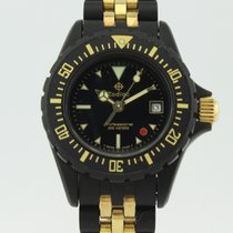 Zodiac Professional 200 Red Point Dive  Quartz Steel Lady...