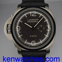 Panerai Luminor 1950 Left-Handed 8 Days Titanio PAM 368