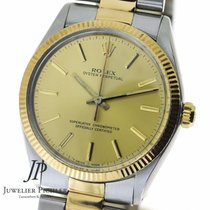 Rolex Oyster Perpetual Stahl Gold 1986
