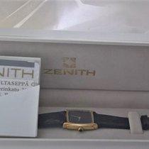 Zenith rare NEW   14ct golden  MINT gemstone  Finlandia watch