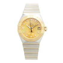 Omega Constellation Gold And Steel Gold Automatic 123.20.27.20...