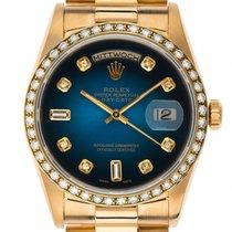 Ρολεξ (Rolex) Day Date Custom Diamond 18kt Gelbgold Diamond...