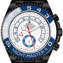 Rolex Yacht-Master II (black, DLC) by Blaken