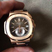 Patek Philippe Nautilus Chronograph Rosegold 2012 99%