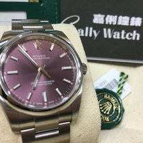 Rolex Cally - 114200 Oyster Perpetual RED GRAPE 紫色  [NEW]