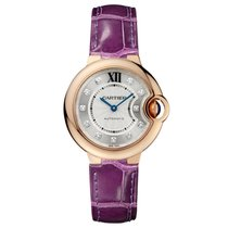 Cartier Ballon Bleu Automatic Ladies Watch Ref WE902063