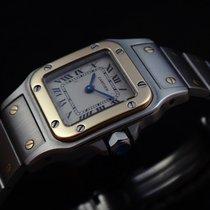 Cartier Santos Galbée Steel & 18k Gold Ladie's
