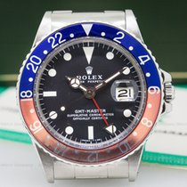 "Rolex 1675 GMT Master 1675 Blue / Red ""Pepsi Bezel""..."