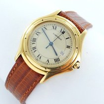 Cartier Cougar Herrenuhr 18kt Gold 750 Ref.116000r Box Zertifikat