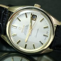 Omega Seamaster Automatic Chronometer Date Gold Cap Mens Watch