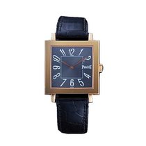 Piaget G0A25038 Altiplano Square in Rose Gold - on Black...
