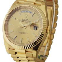 Rolex Unworn 228238_chip Day Date 40 in Yellow Gold - Fluted...