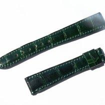 Chopard Croco Band Strap Green 15 Mm 70/105 New C15-4 -70%