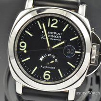 Panerai Luminor Power Reserve Automatic SS 44MM Watch PAM 27C...