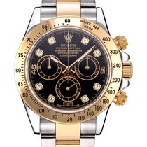 Rolex Oyster Perpetual Cosmograph Daytona Diamond Dial 116523