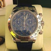 Rolex Daytona Cosmograph White Gold Dial Sodalite Blue