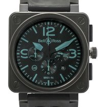 Bell & Ross Aviation BR01 94 PVD LE Chronograph Automatic...