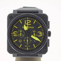 Bell & Ross BR 01-94 Chronographe Aviator Yellow LIMITED...