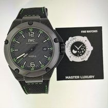 IWC IW322404, Ingenieur Automatic, Blck Dial, Carbon and Rubber