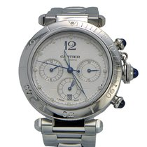 Cartier Pasha Chronograph Skeleton Automatic Stainless Steel