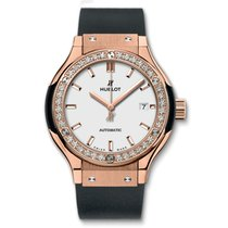 Hublot Classic Fusion King Gold Opalin Diamonds Automatic 33mm