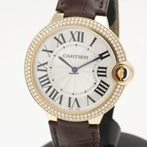 Cartier Ballon Bleu de Cartier 40mm factory diamonds NEW WE902055