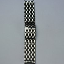 Stainless Steel Watchstrap  Length: 16 cm Width: 20 mm