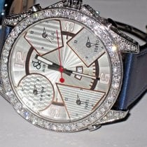 Jacob & Co. JC 47MM Stainless Steel Diamonds