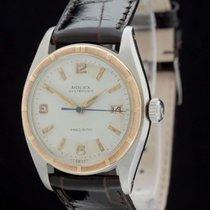 Rolex Oysterdate Precision Ref.: 6494 Vintage -Stahl/Rotgold-...