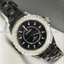 Chanel - J12 H2014 Diamond Bezel ceramic