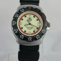 TAG Heuer 371-513 Divers Formula 1 Professional Date Stainless...