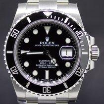 Rolex Submariner Date Steel Ceramic Black Dial, Full Set 40MM