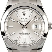 Rolex Datejust II Unworn Silver Dial In Stock
