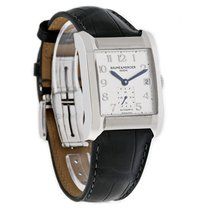 Baume & Mercier Hampton Mens Leather Swiss Automatic ...