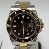 Rolex Submariner Black Index Dial 116613LN