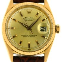 Rolex 18k Rose Gold Datejust, Ref: 1601