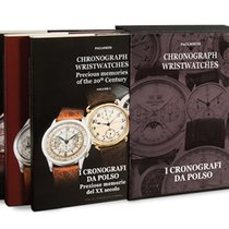 Omega 3 Books Chronograph Wristwatches (all brands)