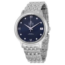 Omega Ladies 42410332053001 De Ville Prestige Co-Axial Watch