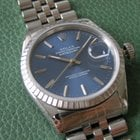Rolex Oyster Perpetual Datejust automatic, blue dial, just...