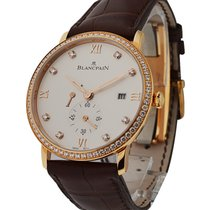 Blancpain 6606-2987-55B-000 Villeret Ultraplate in Rose Gold...