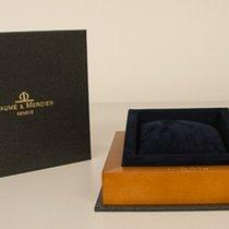 Baume & Mercier Schachtel blaues Kissen