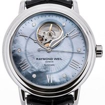 Raymond Weil Maestro Automatic Black Mother of Pearl Dial