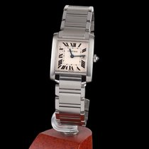 Cartier Tank Francaise Stell Quartz Medium Size