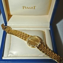 Piaget Dancer Men's Diamond Bezel Yellow  Gold