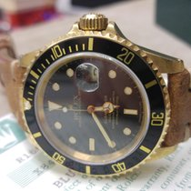 Ρολεξ (Rolex) Submariner - 16618 - Serial X - YELLOW GOLD 18KT...