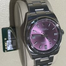 Rolex Nib 36mm Oyster Perpetual Red Grape Box/papers