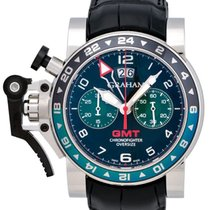 Graham Chronofighter Oversize GMT Chronograph Men's Watch –...